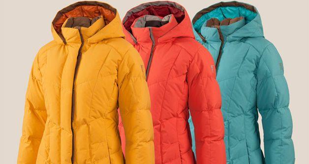 Разноцветные куртки